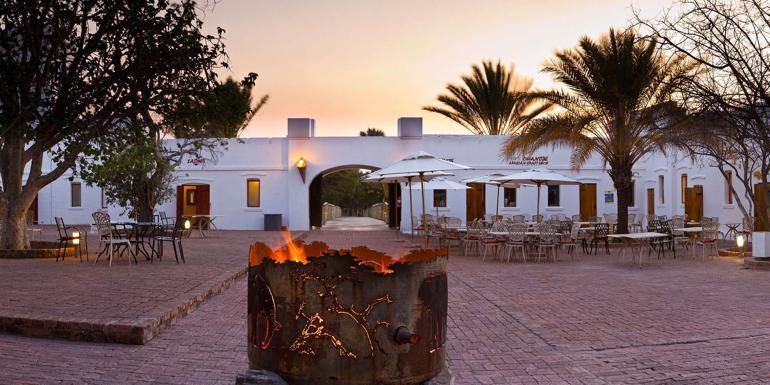 Namutoni Resort Inside The Etosha National Park Namibia